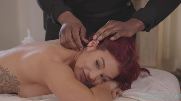"Hot Milf Ryder Skye gets a ""happy ending"" from her BBC masseur"