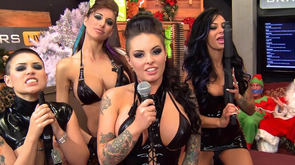 BRAZZERS LIVE 31: HO HO HOES! - Brazzers Porn Scene
