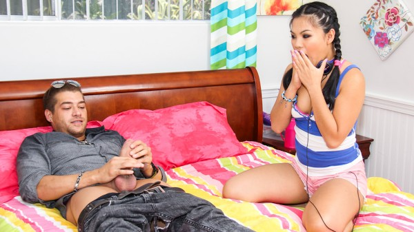 Too Big For Teens #13 Scene 4 Porn DVD on Mile High Media with Cindy Starfall, Xander Corvus