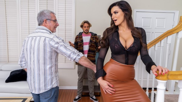 A Slippery Situation - Brazzers Porn Scene