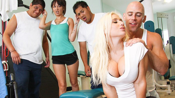 Working out my Big Tits - Brazzers Porn Scene