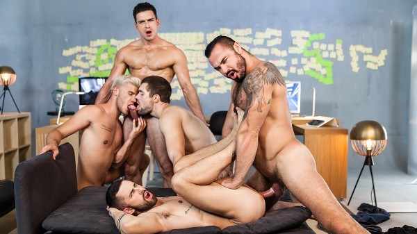 Ex-Machina : A Gay XXX Parody Part 5 - feat Jessy Ares, Paddy O'Brian, Sunny Colucci, Griffin Barrows, Ken Rodeo
