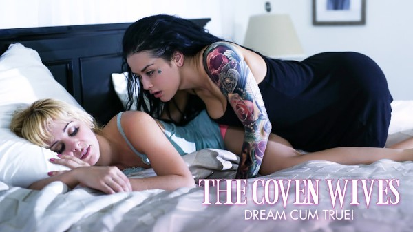 Dream Cum True! Scene 1 Porn DVD on Mile High Media with Cherie DeVille, Katrina Jade
