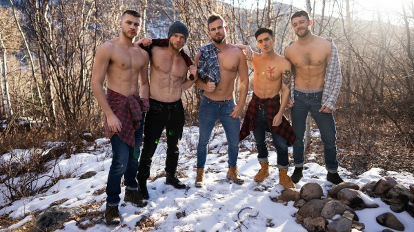 Enjoy The Cabin Episode 4 on Twinkpop.com Featuring Sean, Josh, Cody, Justin, Devy