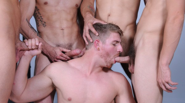 Hazing Ritual - feat Hayden Richards, Johnny Rapid, Blaze, Logan Vaughn, Dominic Reed
