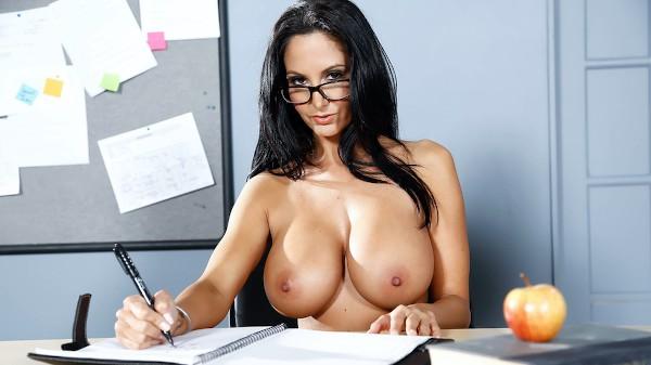 The Book Report - Brazzers Porn Scene