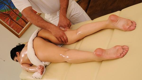 Oily Tits And Fuckable Feet - Brazzers Porn Scene