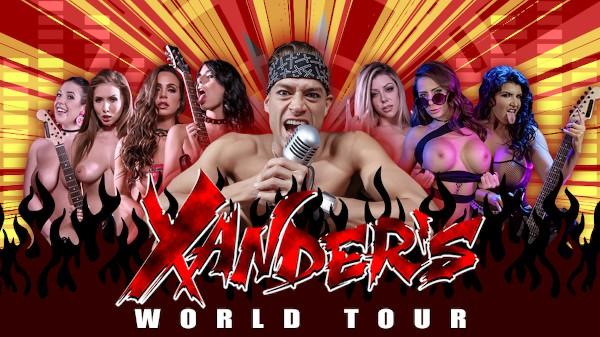 Xander's World Tour - Brazzers Porn Scene