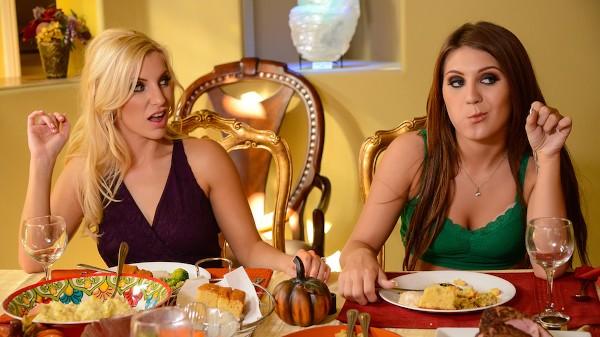 Thanksgiving Fuckfeast - Brazzers Porn Scene