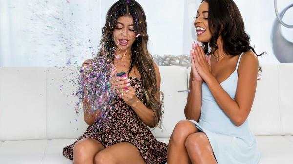Glitter Bomb - Lezdom Bliss Lesbian Porn Video