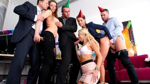 Swingers Orgies #03 Scene 2 Porn DVD on Mile High Media with Kristine Crystalis, Mona Lee, Victoria Puppy