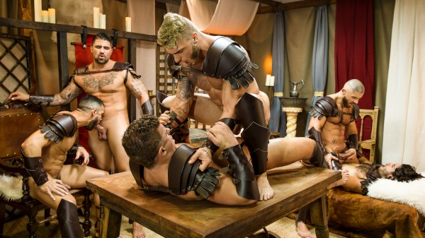 Sacred Band Of Thebes Part 4 - feat Ryan Bones, JJ Knight, Diego Sans, William Seed, Francois Sagat, D.O.
