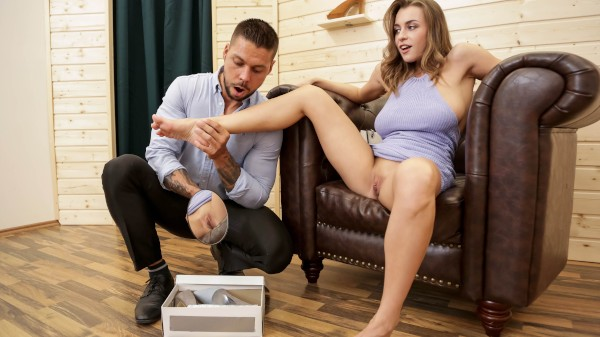 Is That Cum On Your Shoehorn? - Brazzers Porn Scene