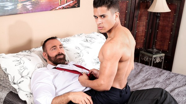 Enjoy Forbidden Encounters Scene 3 on Taboomale.com Featuring Armond Rizzo, Brad Kalvo