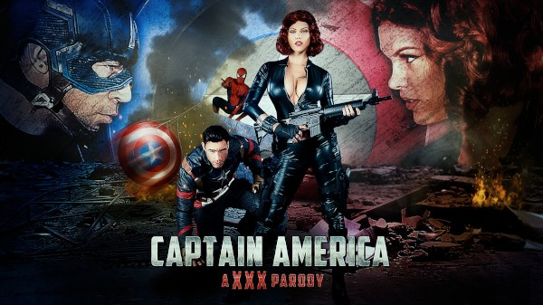 Captain America: A XXX Parody - Brazzers Porn Scene