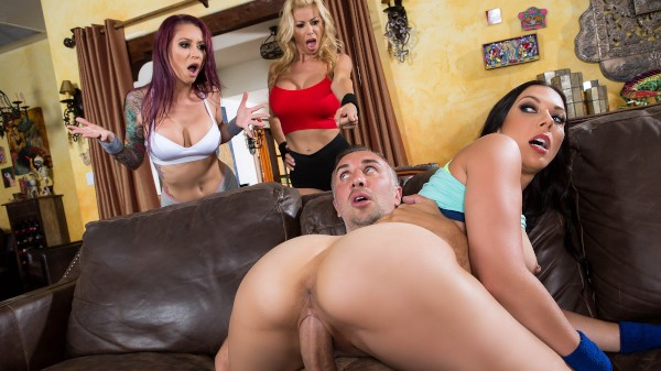 A Side Piece Of Pornstars - Brazzers Porn Scene