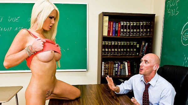 Teaching Mr. Sins - Brazzers Porn Scene