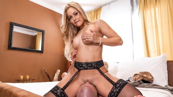Blonde MILF loves big cock husband at SexyHub.com