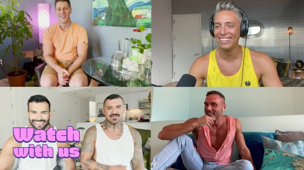 Watch Watch With Us: Just Dick League : A Gay XXX Parody on Male Access - All the Best Gay Porn in One place