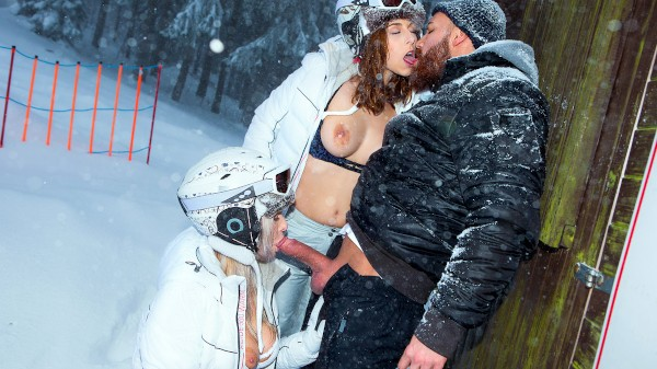 Ski Bums Episode 3 Elite XXX Porn 100% Sex Video on Elitexxx.com starring Nikky Dream, Antonia Sainz, Mr Big Fat Dick