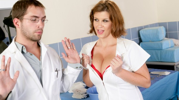 Big Breast Nurses #02 Scene 5 Porn DVD on Mile High Media with Kris Slater, Sara Stone