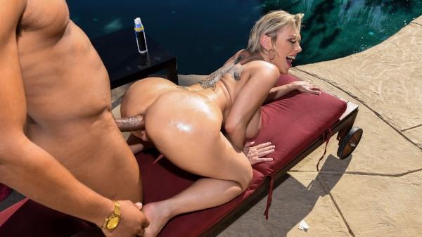 Backyard Banging - Brazzers Porn Scene