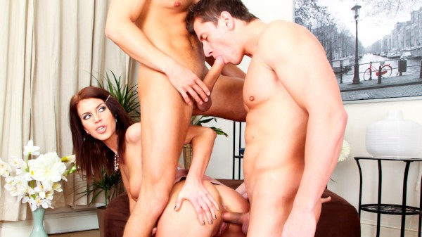 Bi Curious Couples #03 Scene 1 Porn DVD on Mile High Media with Alex Monetti, Denis Reed, Kristine Crystalis
