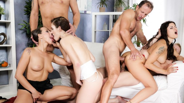 Swingers Orgies #09 Scene 1 Porn DVD on Mile High Media with Denis Reed, George Uhl, Billie Star, Isabella Noir, Mea Melone