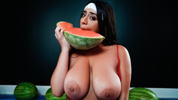 Wetter Melons with Duncan Saint, Violet Myers at bignaturals.com