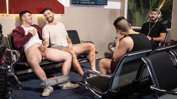 Watch Layover My Dick - Part 1 on Male Access - All the Best Gay Porn in One place