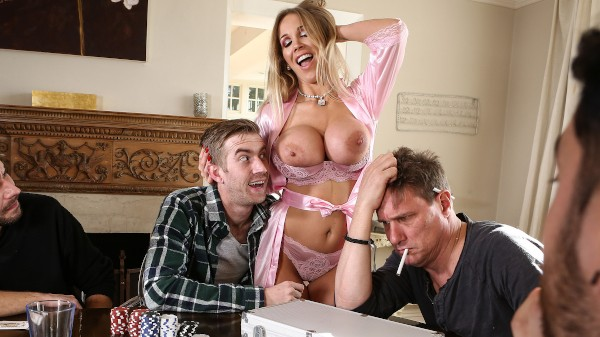 Poker Face - Brazzers Porn Scene