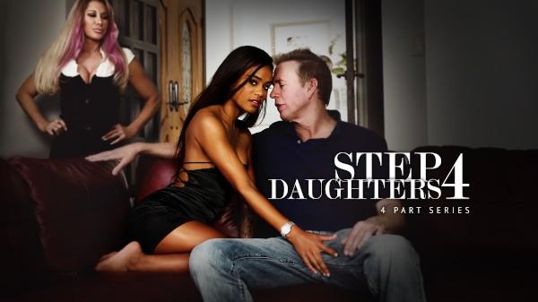 Stepdaughters Vol. 4 - Derrick Pierce, Eric Masterson, Mark Wood, Jane Wilde, Tommy Gunn, Scarlit Scandal, Naomi Swan, Kiara Cole, Farrah Dahl - FamilyPorn