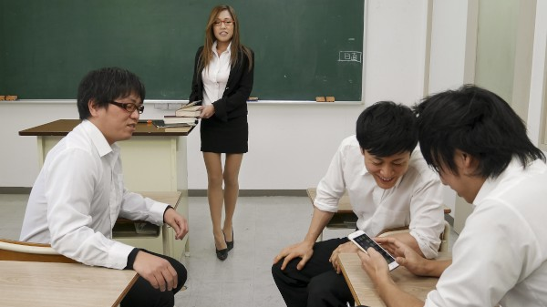 Erito porn - Breaking In Busty Teacher's Ass