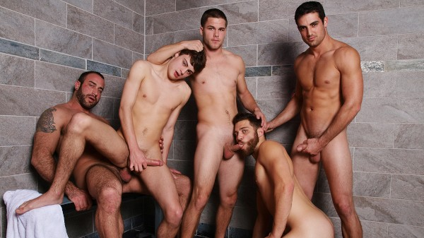 Watch Jizz Shower on Male Access - All the Best Gay Porn in One place