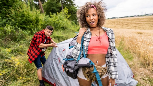 Watch Romy Indy in Tent Poles and Camping Creampies