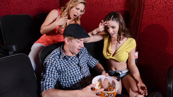 A Movie Date Dicking - Brazzers Porn Scene