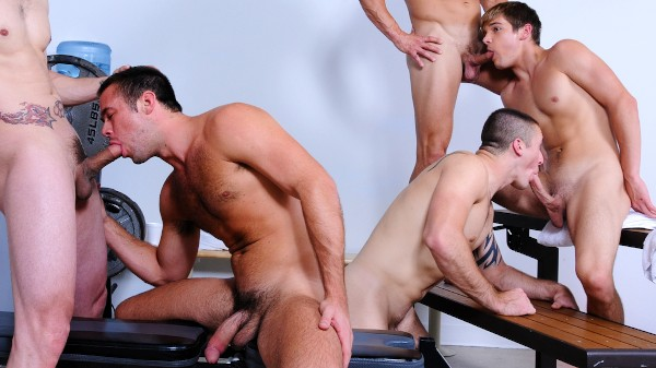 Muscle Worship - feat Connor Kline, Johnny Rapid, Phenix Saint, Mike De Marko, Bryce Evans