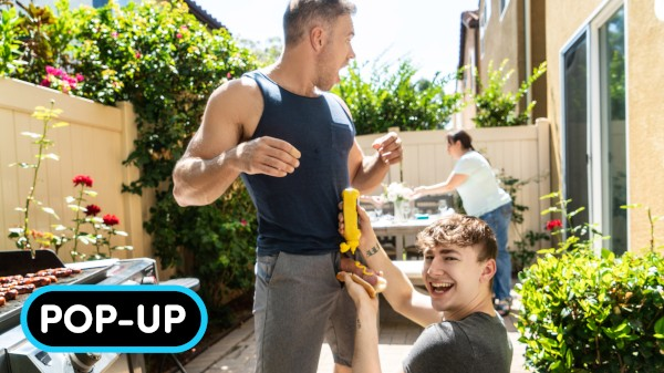 Watch Grilled: POP-UP on Male Access - All the Best Gay Porn in One place