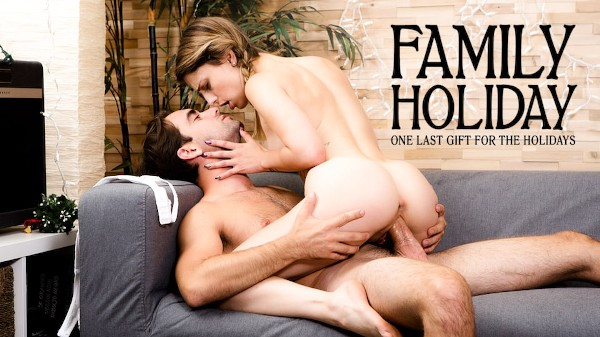 One Last Gift for the Holidays Scene 4 Porn DVD on Mile High Media with Logan Pierce, Kristen Scott