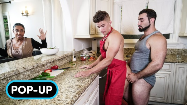 Watch Right In Front Of My Salad?: POP-UP on Male Access - All the Best Gay Porn in One place