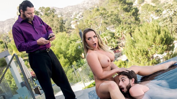 Hot Tub n Tug - Cali Carter, Lucas Frost