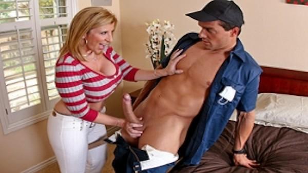 Taking a Big Bite Out of Crime - Brazzers Porn Scene