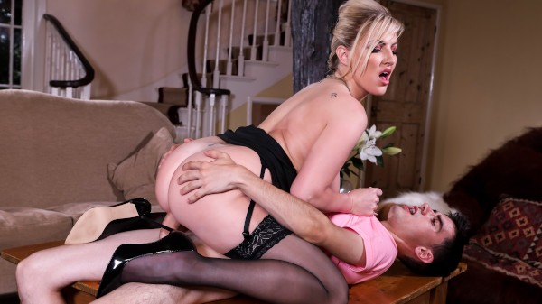 Pounding The Problem Son - Brazzers Porn Scene