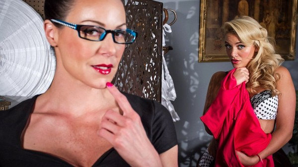 Fucking at the Photoshoot - Lezdom Bliss Lesbian Porn Video