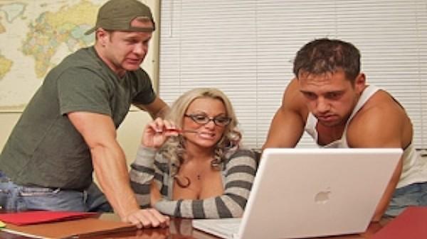 The Librarian - Brazzers Porn Scene