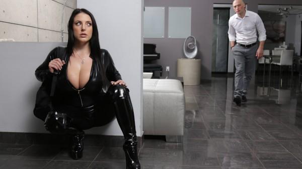 Busting On The Burglar - Brazzers Porn Scene
