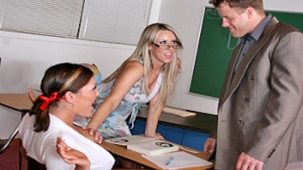 Big Tits In Class - Brazzers Porn Scene