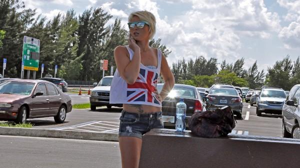 Watch Dani Desire in Blonde Cutie Fucks a Complete Stranger In His Car