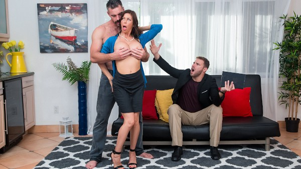 Garden Milf with Charles Dera, Alexis Fawx at milfhunter.com