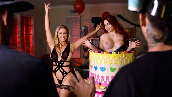 Stag And Shag - Mick Blue, Cherie Deville, Veronica Vain